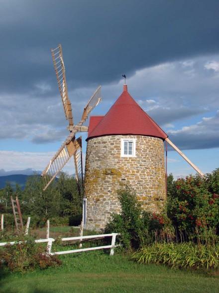 Moulin à vent de l'Isle-aux-Coudres