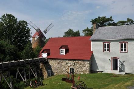 Moulin à eau de l'Isle-aux-Coudres
