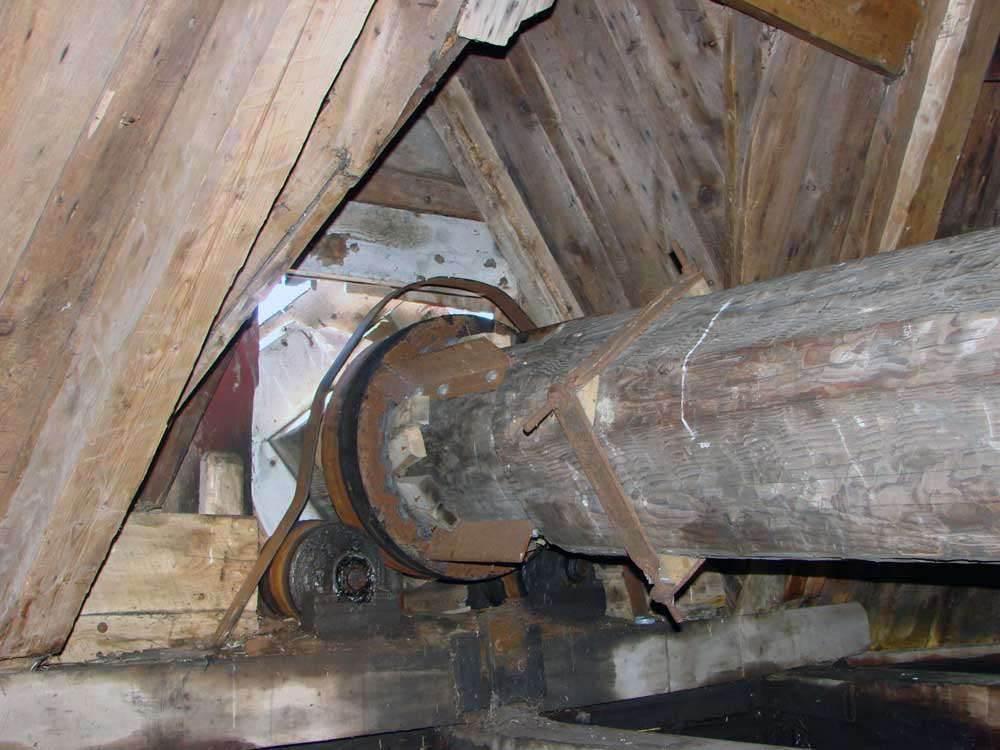 Moulins à vent de l'Isle-aux-Coudres - Restauration du mécanisme du moulin