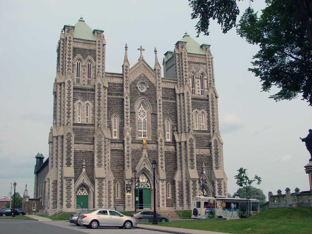 Église de la nativité de Beauport - Avant la restauration.