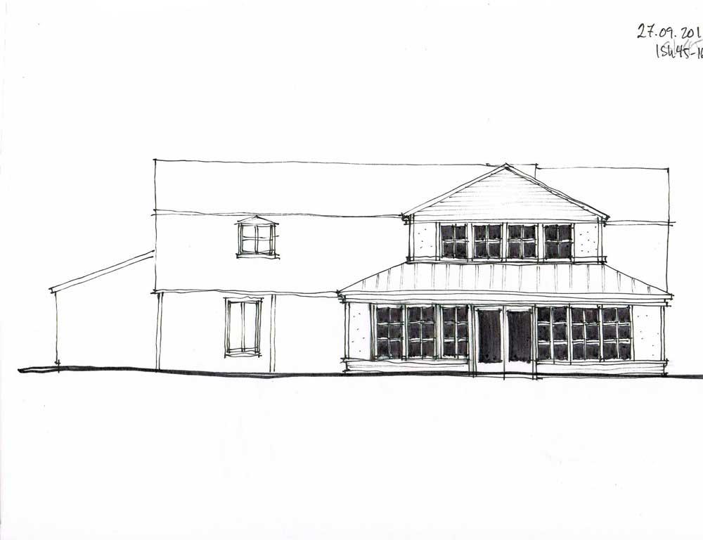 Maison Simons - Conception de l'agrandissement.