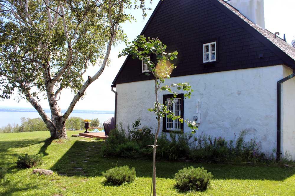 Maison Hébert dit Lecompte - Façade coté est avant l'agrandissement