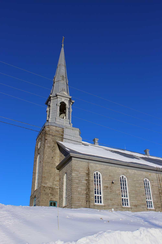 Saint-Evariste - Recherche de vocation pour l'église de Saint-Évariste-de-Forsyth.