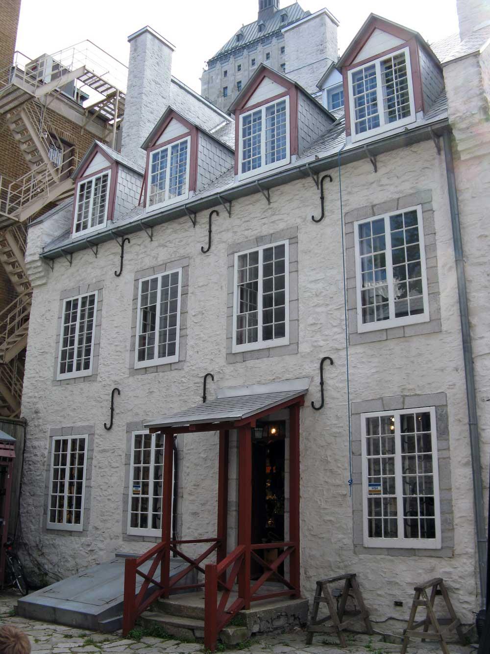 Maison Antoine-Vanfelson - Facade arrière.
