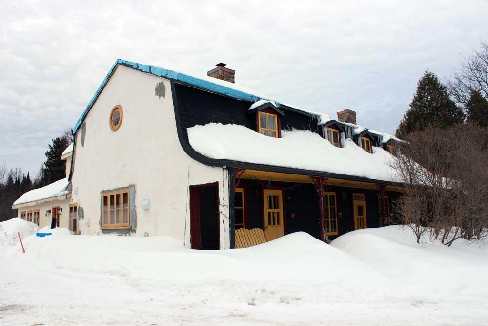 Maison Simons - Pendant les travaux.